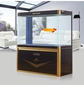 大型魚缸水族箱1米中型長方形玻璃生態金魚缸 NMS 小明同學
