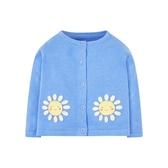 mothercare 藍太陽花針織外套-夏日記憶(M0PH004)12M