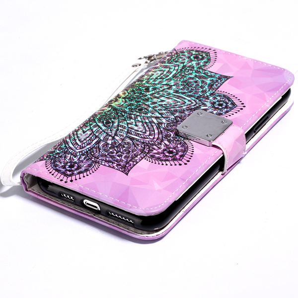 蘋果 iPhone 11 11 Pro 11 Pro Max 炫彩3D皮套 手機皮套 掀蓋殼 插卡 支架 掛繩 保護套