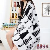 智陽紗布浴巾 成人棉質柔軟吸水男女兒童家用大浴巾 BF7101【花貓女王】