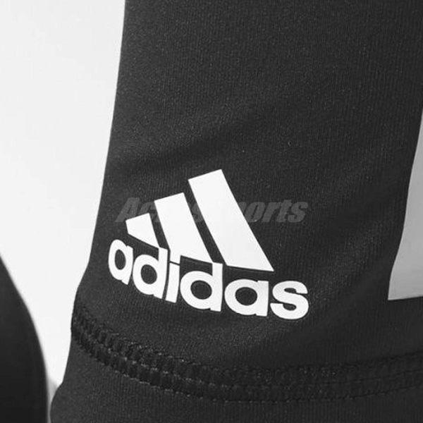 adidas 長褲 Ultimate Fit Tights 女款 緊身褲 經典 基本款 運動 三條線 黑 白 【PUMP306】 AJ5052