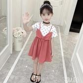 3兒童裝4女童洋裝連身裙5夏裝2020新款6小孩7女孩洋氣夏天公主裙子8歲 LR23900『麗人雅苑』
