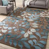 北歐潮牌簡約現代門墊客廳茶幾沙發地毯臥室床邊墊長方形地墊 【格林世家】