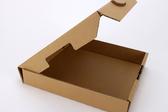 牛皮披薩盒(12吋) 素面無印刷 pizza盒 潮T服飾包裝盒 (50入裝)