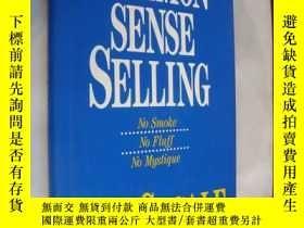 二手書博民逛書店Common-sense罕見selling:No smoke,N