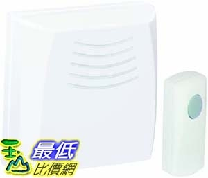 [9美國直購] Honeywell 門鈴 Honeywell RCWL110A1006/N Wallmount Wireless Doorbell / Door Chime and Push Button
