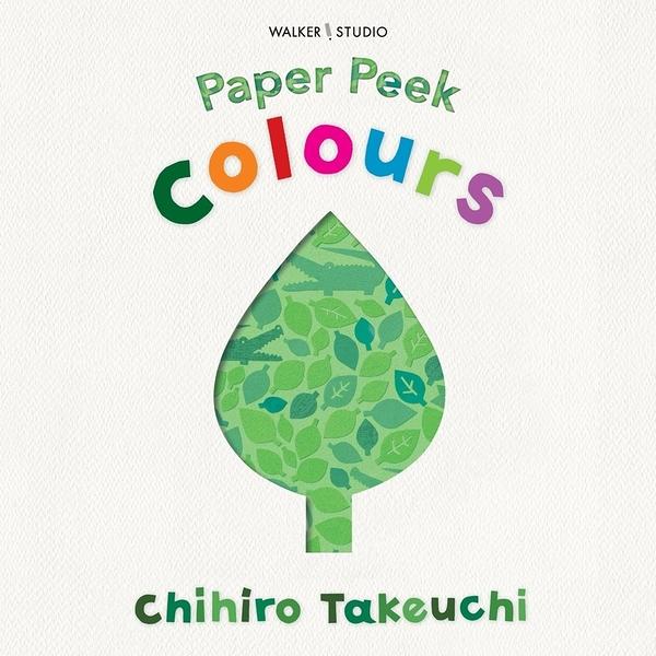 【麥克書店】PAPER PEEK COLOURS硬頁書《認知/顏色/尋找/觀察力訓練/數數/藝術》