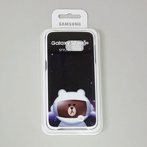三星SAMSUNG Galaxy S7 Edge 原廠薄型背蓋(兔兔/熊大)