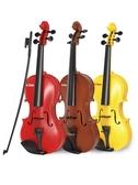 寶麗小提琴玩具可彈奏兒童禮物寶寶音樂樂器女孩男孩3-6歲初學者 小宅君