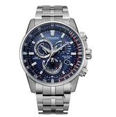 CITIZEN 星辰 光動能 萬年曆電波對時 手錶 CB5880-54L