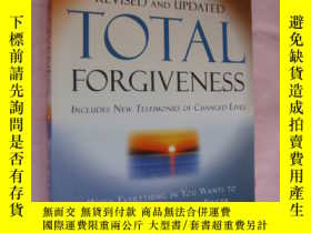 二手書博民逛書店TOTAL罕見FORGIVENESS (incuding new