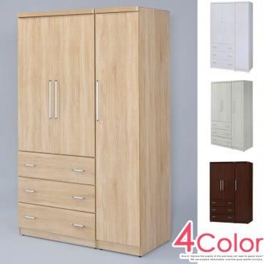 【Homelike】 愛娜4x7衣櫃(橡木)