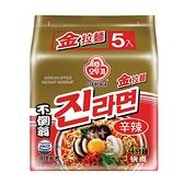 韓國不倒翁金拉麵(辛辣) 120g x5【愛買】