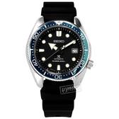 SEIKO 精工 / 6R15-04G0X.SPB079J1 / PROSPEX 潛水錶 機械錶 藍寶石水晶玻璃 矽膠手錶 黑色 44mm