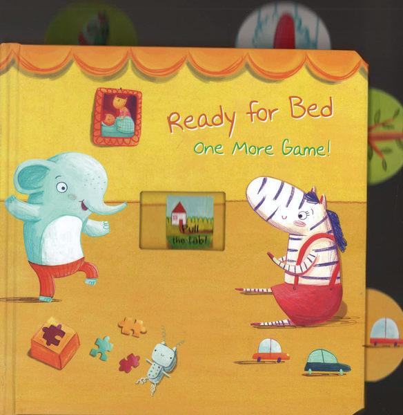 【睡前:拉拉操作書】READY FOR BED ONE MORE GAME ! /硬頁操作書 (1歲以上適用)