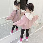 女童外套 女童短款外套秋冬裝新款童裝羊羔絨韓版兒童女孩加厚洋氣上衣 新鋪開張全館八折