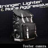 《7color camera》Zkin RAW Yeti 後背單眼相機包-『迷彩綠』(新色發表)『滿千折百-限時限量』