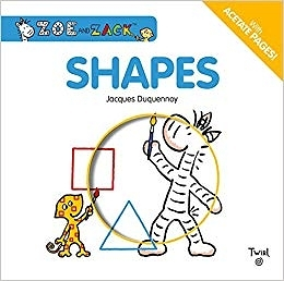 【麥克書店】SHAPES ZOE AND ZACK /硬頁膠片書《主題:形狀.想像.》