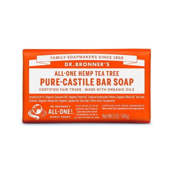 DR.BRONNER'S 布朗博士 茶樹潔膚皂(5OZ/140G)