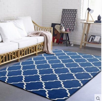 簡約現代沙發客廳茶几地毯北歐臥室房間床邊可機洗家用長方形滿鋪