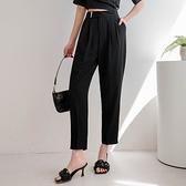MIUSTAR 俐落質感!金屬壓釦造型西褲(共3色,S-XL)【NJ1030】預購