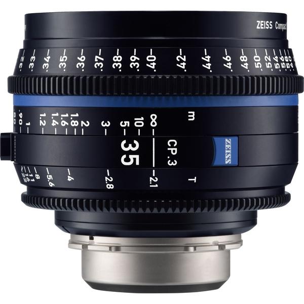 【預購】蔡司 Zeiss CP.3 35mm T2.1 Feet 電影定焦鏡頭 公司貨