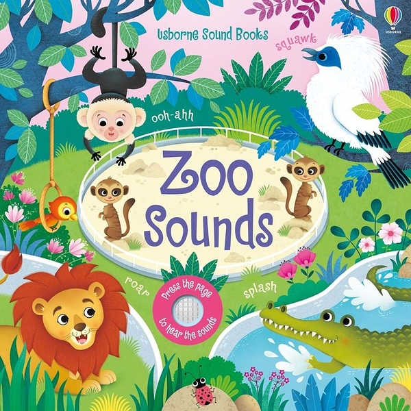 Touchy-Feely Sound Books:Zoo Sounds 動物園聲音觸摸音效書