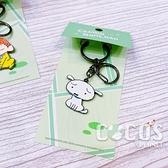 正版 Crayon Shinchan 蠟筆小新被罵了鑰匙圈 鑰匙圈 吊飾 小白款 COCOS LL046