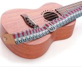 皮頭烏克麗麗背帶 棉質棉麻ukulele尤克裏裏小吉他尾釘肩帶 潮流前線