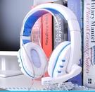 頭戴式耳機 手機電腦通用耳麥有線臺式機筆記本K歌電競吃雞聽聲辨位【快速出貨八折鉅惠】