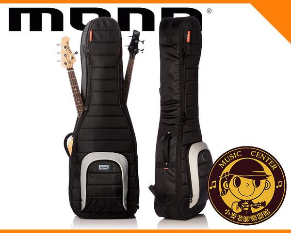【小麥老師樂器館】MONO M80-2B-BLK 雙電貝斯琴袋 電貝斯背袋 背袋 琴袋 貝斯背袋