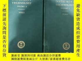二手書博民逛書店INSTRUMENT罕見TECHNOLOGY VolumeⅠ·Ⅱ