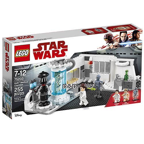 樂高積木 LEGO 2018《 LT75203 》STAR WARS 星際大戰系列 - Hoth Medical Chamber╭★ JOYBUS玩具百貨
