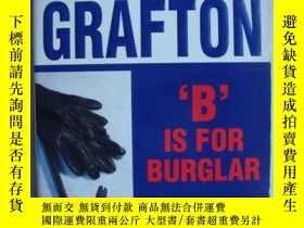 二手書博民逛書店B罕見Is for Burglar 【英文原版 】Y146810
