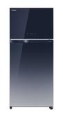 【TOSHIBA東芝】608L漸層藍雙門變頻鏡面冰箱 GR-AG66T(GG)