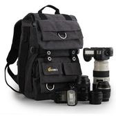 相機後背包-多功能專業戶外防水帆布雙肩攝影包71a10【時尚巴黎】