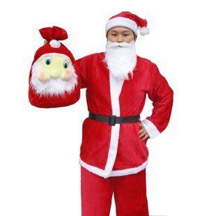聖誕節服裝聖誕老人服裝衣服男裝