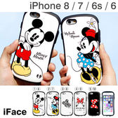 Hamee 自社製品 迪士尼 iFace 經典人物 iPhone 8/7/6s/6 手機殼 附吊飾孔 (任選) 41-8424-855409