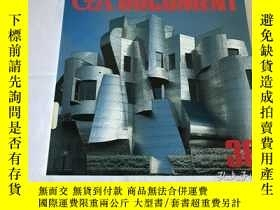 二手書博民逛書店GA罕見Document 38(英、日、雙語)Y8204 世界建築 世界建築