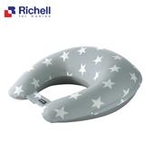 【RICHELL利其爾】攜帶型充氣式多功能授乳枕-灰星星