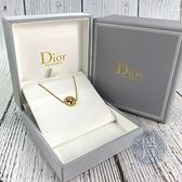 BRAND楓月 Christian Dior 迪奧 ROSE DE VENTS 母貝手鍊 小鑽 K18 手飾 配飾 配件