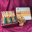 蜂蜜太陽餅7入+鳳梨酥12入(蛋奶素)