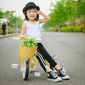 兒童三輪車腳踏車1-3-5歲男孩手推童車輕便自行車寶寶腳蹬小單車WY三角衣櫥