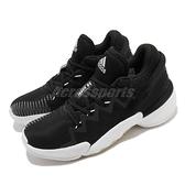 adidas 籃球鞋 D.O.N. Issue 2 GCA 黑 白 男鞋 米邱 二代 運動鞋【ACS】 FW9042