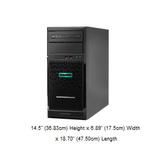HPE ML30 Gen10 熱抽伺服器(SATA 3.5吋) (P06761-B21)【Intel Xeon E-2244G / 8GB / 1TB*2 / S100i (RAID 0,1,10,5)】