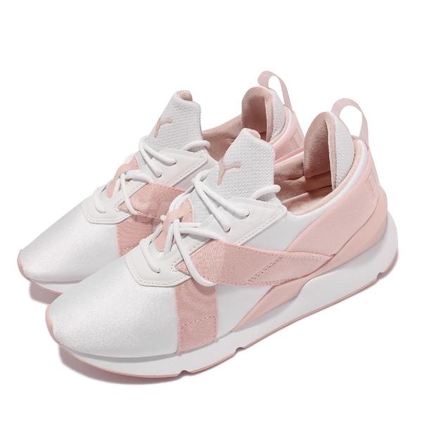 Puma 休閒鞋 Muse X3 Pastel Wns 粉紅 白 女鞋 運動鞋 【ACS】 374869-01