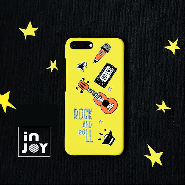 iPhone系列 樂活搖滾派對手機殼  INJOY Mall【A715012】