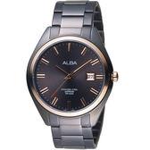 ALBA雅柏漫步都會時尚腕錶 VJ42-X250K  AS9F82X1 黑