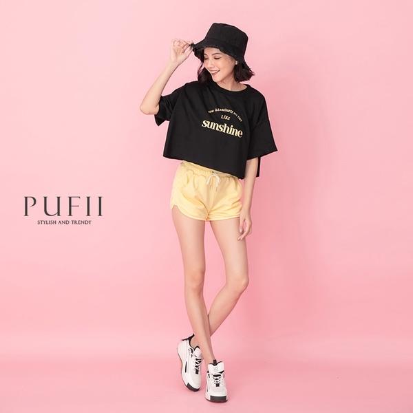 限量現貨◆PUFII-上衣 Sunshine短版短袖T恤上衣- 0415 現+預 春【CP20194】