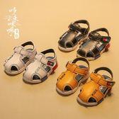 童鞋/涼鞋 男童中性涼鞋 0-3歲寶寶軟底鞋小孩平底百搭學步鞋潮